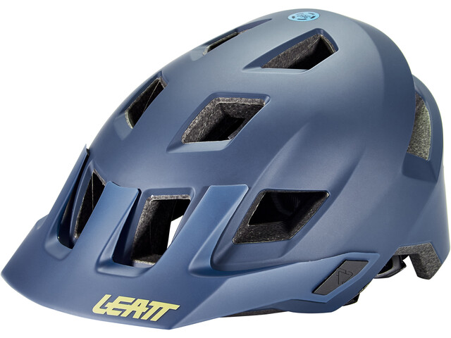 Leatt DBX 1.0 V21.1 MTN Helmet, blauw